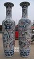 青花陶瓷大花瓶 2
