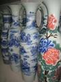 青花陶瓷大花瓶 4