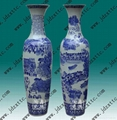 青花陶瓷大花瓶 5