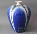 色釉窯變花瓶