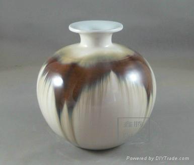 色釉窯變花瓶 2