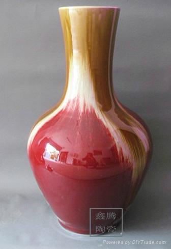 色釉窯變花瓶 5