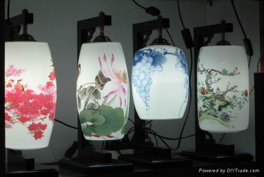 精美陶瓷燈具 1