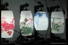 精美陶瓷灯具