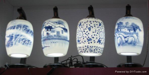 精美陶瓷燈具 2