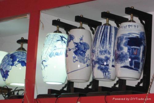 精美陶瓷燈具 3