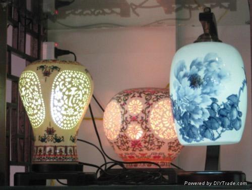 精美陶瓷燈具 4