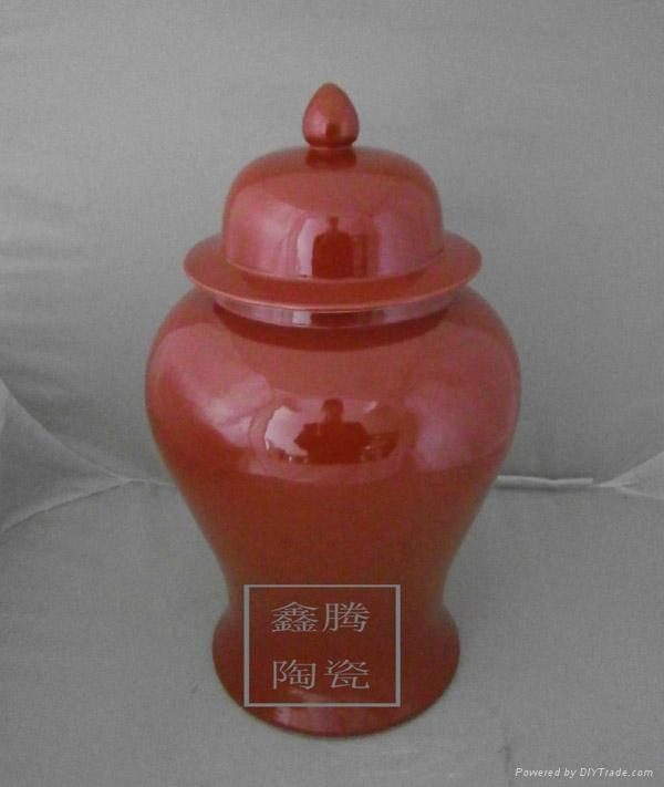 顏色釉花瓶 1
