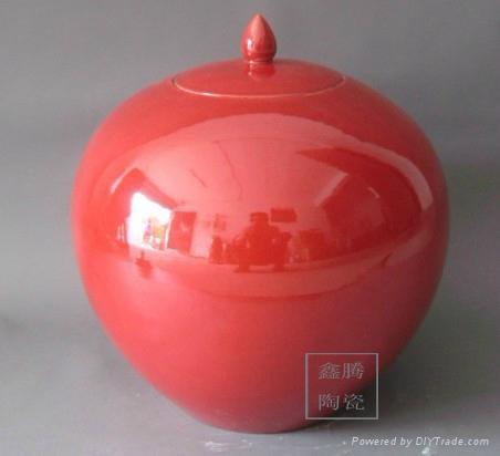 顏色釉花瓶 2