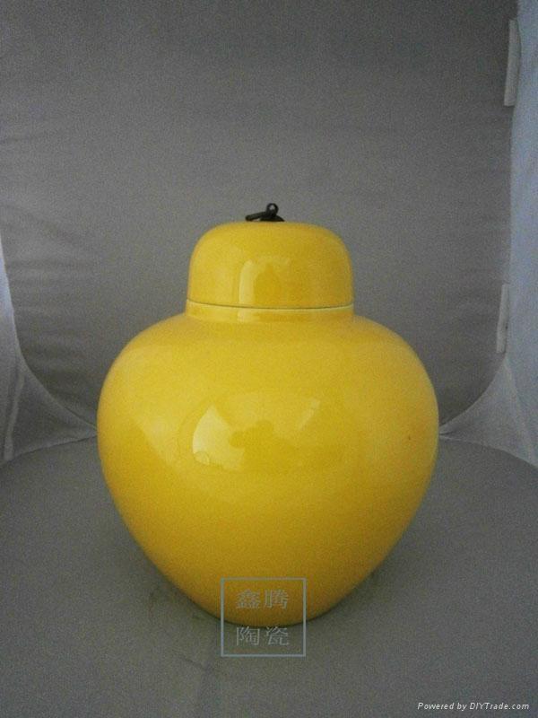 顏色釉花瓶 5