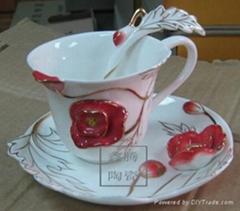 精美陶瓷咖啡杯