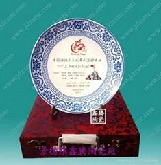 单位庆典陶瓷纪念盘
