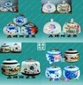青花陶瓷茶葉罐 4
