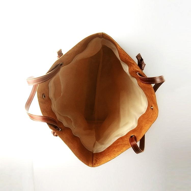 防水杜邦紙手提袋 環保休閑購物袋 可折疊手提包便攜簡約杜邦紙袋 4