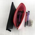 牛皮紙筆袋 文具用品收納袋 大容量防水純色化妝包 航空袋 4