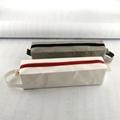可水洗牛皮纸笔袋 环保化妆收纳袋 纯色创意文具铅笔袋 可印logo 2