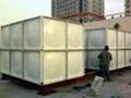 北京SMC組合式玻璃鋼生活飲用消防軟化水箱 2