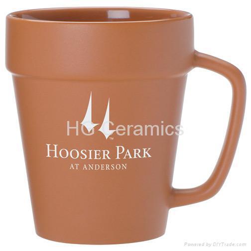 Flower pot mug 1