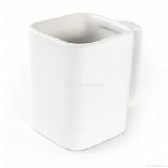 Real square mug