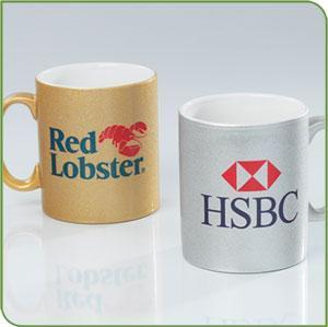 gold , si  er sublimation mugs 2