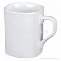 Square mug, sublimation coated
