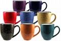 Speckle Bistro mug,14oz