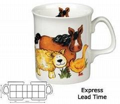 Marlborough bone china mug mug