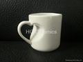 Sublimation heart  shape mug