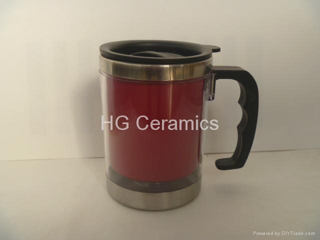 stainless steel  color change mug ,magic mug  1