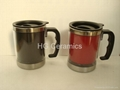 stainless steel  color change mug ,magic mug