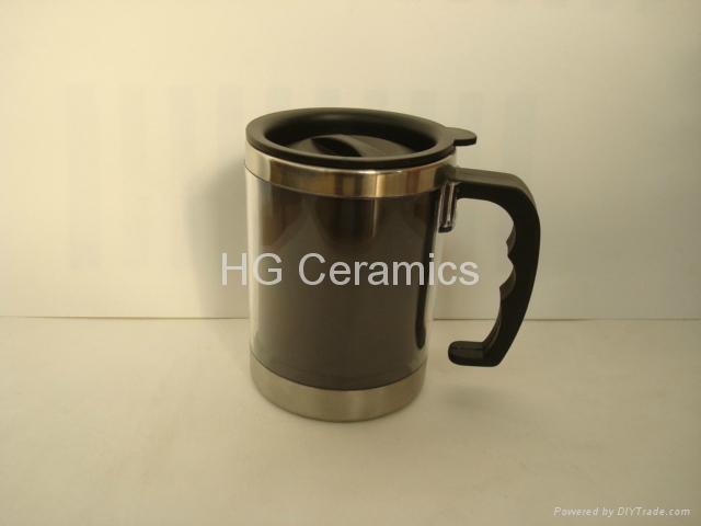 stainless steel  color change mug ,magic mug  3