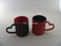 Heart Shape Handle Mug