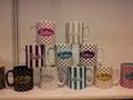 Ceramic mug with Glitter logo