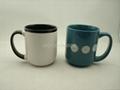 16oz stoneware mug , ceramic mug