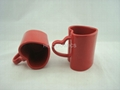Red Heart Shape Mug
