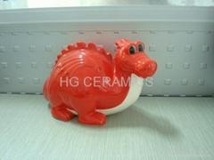 Dragon shape coin bank , money box