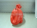 Dragon shape coin bank , money box