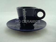 Expresso mug with saucer ,1.5oz