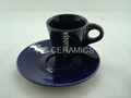Expresso mug with saucer ,1.5oz