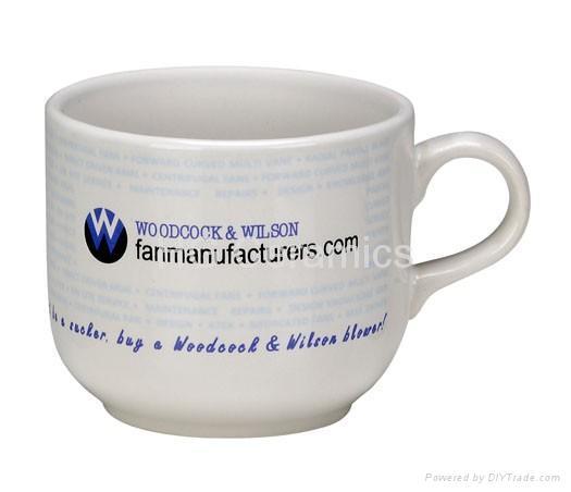 ceramic soup mug