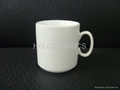 Sublimation procelain mugs