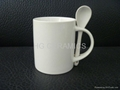 11oz sublimation mug with spoon