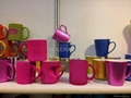 metalic color mugs
