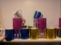 metalic color mugs