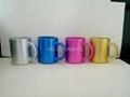 11oz   pearl finished  glass mug