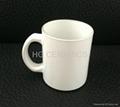 11oz white sublimation glass mug