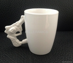 Pistol   handle mug