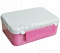 Sublimation Lunch Box-white