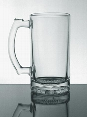 Glass beer steins