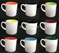6oz Sublimation mug ,inside color